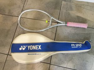 Yonex Rexking 22 Tennis Racket and Case for Sale in Gaithersburg, MD