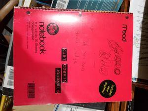 Kurt Cobain Journal for Sale in Moreno Valley, CA