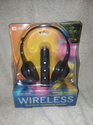 UnWired Wireless Infrared Stereo Headphone 3000 IR System-New In Box for Sale in Dracut, MA