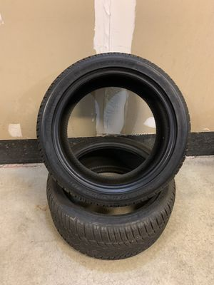 Dunlop tires 245/40 R17 for Sale in Oswego, IL
