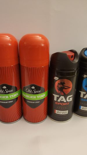 Old Spice and Tag Body Spray for Sale in Norco, CA