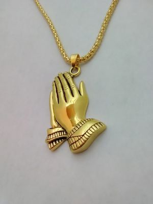 Praying Hands Necklace for Sale in Columbus, OH