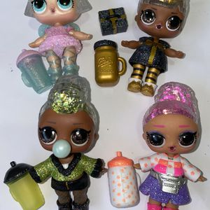 Lol Dolls Winter Disco Series Lot Of 4 for Sale in Gresham, OR