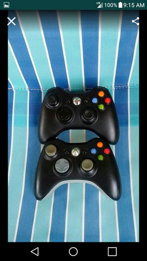 2 Xbox360 Wireless Controllers for Sale in Nashville, TN