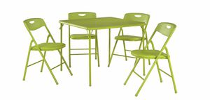 NEW Apple Green 5-Piece Folding Table and Chair Set for kids for Sale in Las Vegas, NV