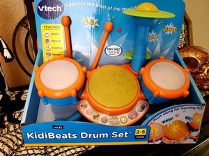 VTech KidiBeats Drum Set for Sale in El Paso, TX