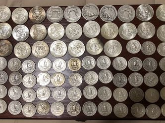 Silvers Coins Half's And Quarters 90 Percent Silver for Sale in Simpsonville,  SC