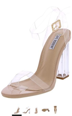 Clear Heels Size 10 for Sale in Lisle, IL