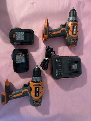 Ridgid drill for Sale in Dallas, TX