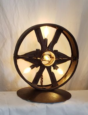 Antique Industrial Metal Pulley Lamp for Sale in Lakewood, WA