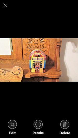 Coca Cola Decorative Collector Tin, Juke Box, Always Rockin' 1997 for Sale in Lynchburg, VA