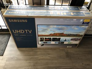 Samsung Smart TV 50 inch ((( take it home with 50$, no credit needed))) for Sale in Dallas, TX
