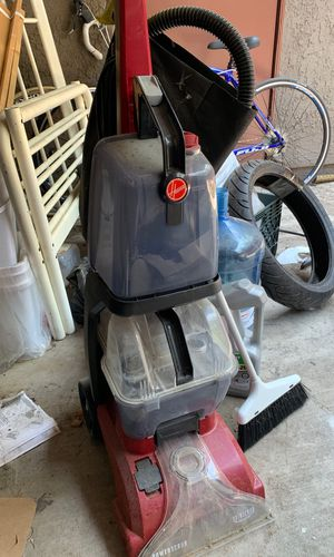 Good condition steam carpet cleaner vacuum for Sale in Riverside, CA