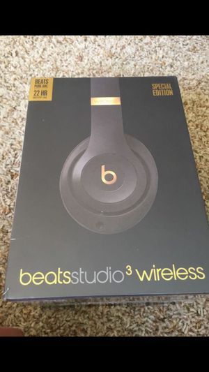 Beats Studio 3 Wireless Special Edition Headphones for Sale in San Diego, CA