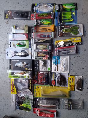 Bass fishing lures for Sale in Stockton, CA