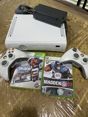 Xbox 360 with two wireless controller pick up at timber dr Garner for Sale in Garner, NC