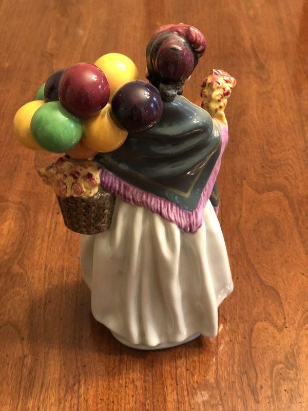 """Original Royal Doulton """"Biddy Penny Farthing"""" Figurine HN 1843"""