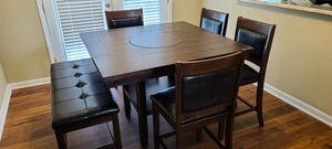 Brand New in the box Espresso table set with bench for Sale in Kennesaw, GA
