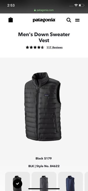 PATAGONIA VEST BRAND NEW for Sale in Escondido, CA