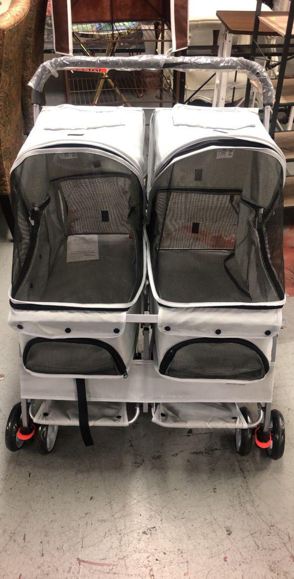 Dog strollers!