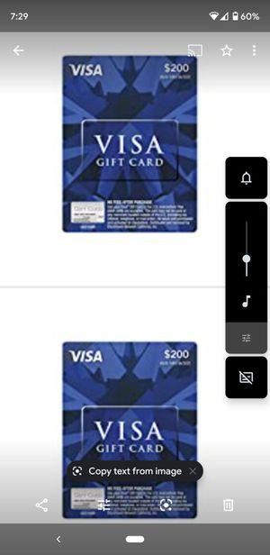 Selling visa cards for Sale in Sandy Springs, GA