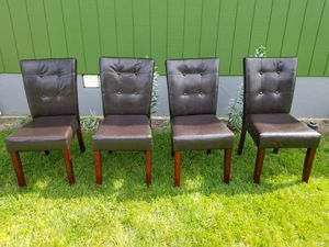 Dining room chairs set of four for Sale in Portland, OR