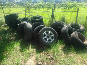 Tires some good some bad for Sale in Somerset, TX