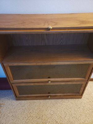 Bookcase or display case with glass front for Sale in Loveland, CO