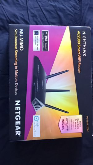 NIGHTHAWK AC2300 Smart WiFi Router for Sale in San Diego, CA