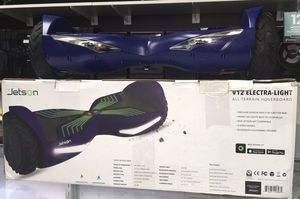 Scooter All - Terrain Hoverboard Patineta Jetson V12 Electra - Light Bluetooth for Sale in Miami, FL