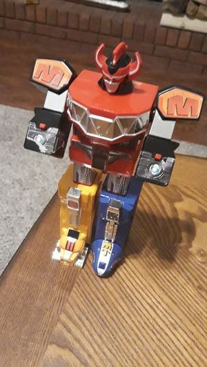 Power rangers toy megazord for Sale in Loganville, GA