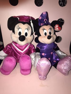 Minnie Mouse plushies for Sale in Virginia Beach, VA