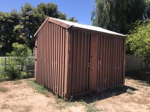 10x10 storage shed steel container for Sale in Glendale, AZ