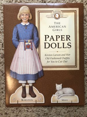 Kirsten American Girl Paper Dolls set for Sale in Vancouver, WA