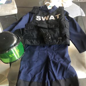 Kids Swat Costume Size 7 for Sale in Los Angeles, CA