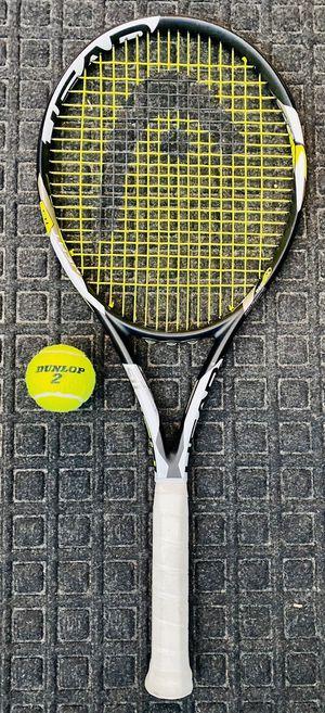 Head tennis racket mid plus 4 3/8 grip like new for Sale in Las Vegas, NV