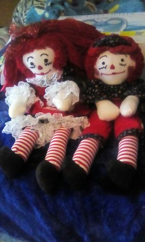 Raggedy Ann and Andy Dolls for Sale in Louisville, KY