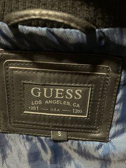 Black leather GUESS Vest Jacket for Sale in Leesburg,  VA