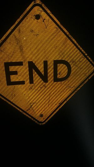 End sign for Sale in Sacramento, CA
