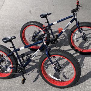 Mongoose Dolomite Beast fat tire Shimano Tourney 7 Speed Front and rear disc brakes for Sale in West Palm Beach, FL