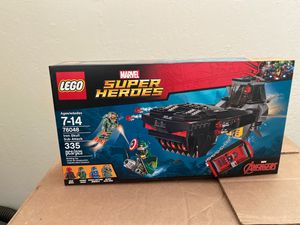 Lego Marvel 76048 Iron Skull Sub Attack for Sale in Phoenix, AZ