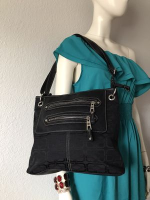 Black leather women purse for Sale in Parkland, WA