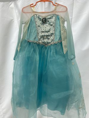 Frozen pretend play dress - Elsa (size 4) for Sale in Whittier, CA