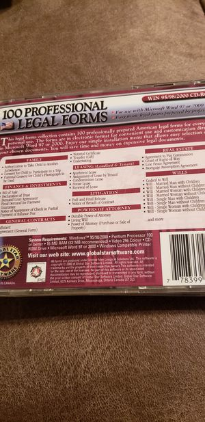 100 legal forms for Sale in Auburndale, FL