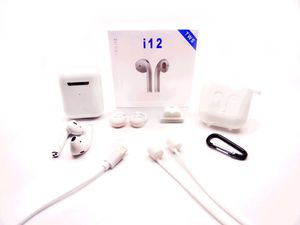 I12 TWS White Bluetooth Earphones Wireless Headphones / Earbuds / Airpods i12 TWS for Apple IOS or Android for Sale in Frostproof, FL