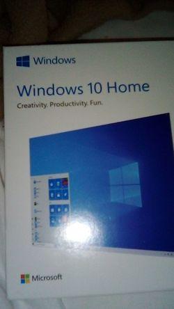 Microsoft windows 10 home for Sale in Greenville,  SC