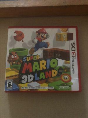 Super Mario 3 D land Nintendo 3 DS for Sale in Orlando, FL