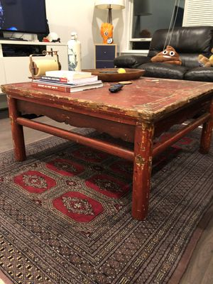 Antique Asian Wood Coffee Table for Sale in NJ, US