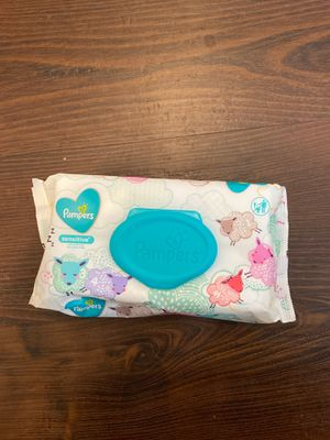 pampers baby wipes 56 ct for Sale in Chula Vista, CA