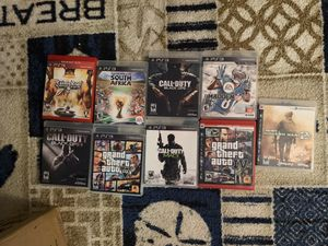 PS3 with games for Sale in Tamarac, FL